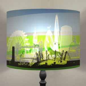 London Drum Lamp shade